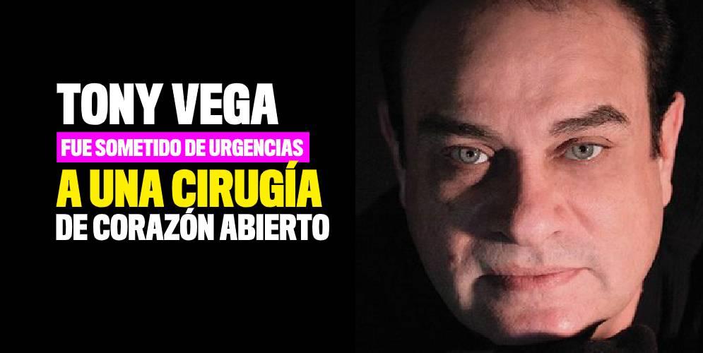 Tony Vega es hospitalizado en Estados Unidos